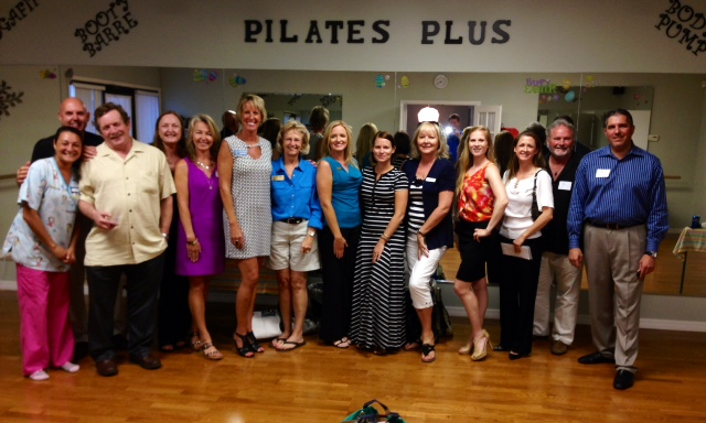 Chamber event @ Pilates Plus